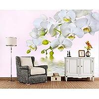 Orchidea bianca - Carta da parati / Pitture e ... - Amazon.it
