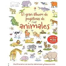 El gran álbum de pegatinas de animales