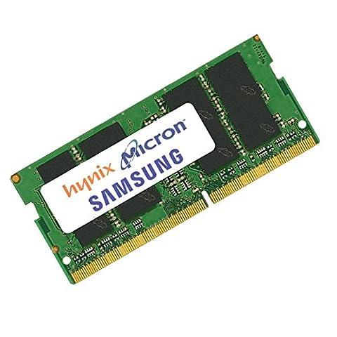 RAM 4GB Mo de mémoire Intel NUC6i5SYH (DDR4-19200 (PC4-2400))