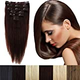 """Best Full Hair Remy Hair Extensions - 16""""-22"""" 65g-80g Clip in Remy Human Hair Extensions Review"""