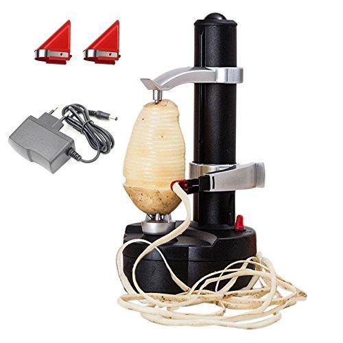Eplucheur de pommes de terre electrique KKWLELEL [2 lames...