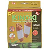 Acupressure Health Care System Acp Kinoki Cleansing Detox Foot Pads - Set Of 10 (Free Size, White)