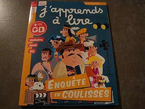 j'APPRENDS A LIRE N°184 ENQUÊTE EN COULISSES + TON CD