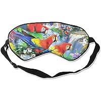 Sleep Eye Mask Forest Parrot Lightweight Soft Blindfold Adjustable Head Strap Eyeshade Travel Eyepatch E16 preisvergleich bei billige-tabletten.eu