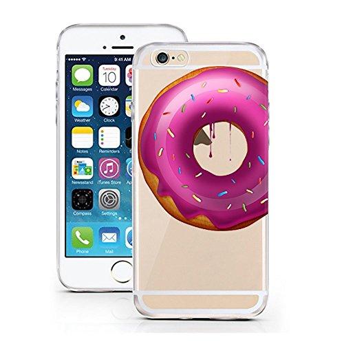 "licaso® iPhone 6 6S 4,7"" TPU Schneewittchen Hülle Disney Case transparent klare Schutzhülle Disney Hülle iphone6 Tasche Snow White Case (Schneewittchen) Donut"