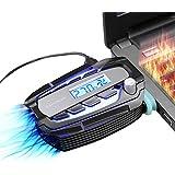 Refroidisseur PC Portable Extracteur d'air USB Pour Refroidissement Ventilateur Pour Refroidissement Rapide 5400 Tours/ Minute