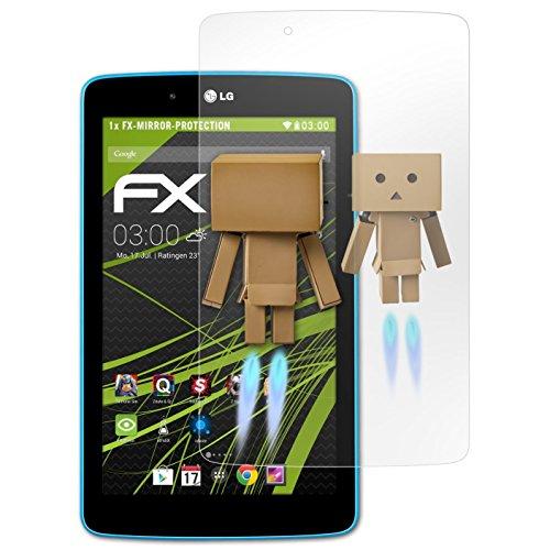 V400 Lg (atFoliX Displayschutz für LG G Pad 7.0 Spiegelfolie - FX-Mirror Folie mit Spiegeleffekt)
