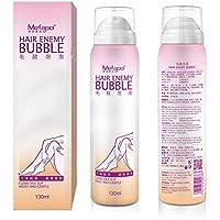 Shoppy Shop Mefapo Spray Away Painless Wipe Hair Removal Foam Mousse Depilatory Cream