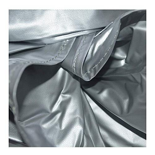 ATR Garten Rattan Möbel Abdeckung Set Abdeckung Billard Tisch Staubschutz Tischtennisplatte Oxford Tuch Plane Wasserdicht Sonnencreme Regenfest Silbergrau, 4 Größen (Größe: 330x190cm) -