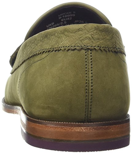 Ted Baker Miicke 5, Mocassins Homme Vert (Dark Green)