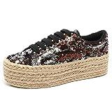 Jeffrey Campbell B2196 Scarpa Donna Sneaker Zeppa Shoe Woman [39]