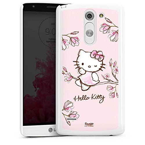 LG G3 Stylus Hülle Case Handyhülle Hello Kitty Merchandise Fanartikel Magnolia (Hello Kitty Cases Für Lg G3)
