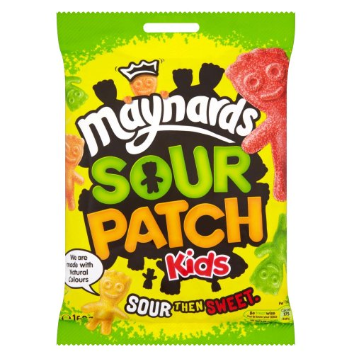 Maynards Sour Patch Kids 160g – sauere englische Gummibären