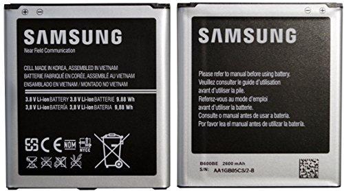 Samsung Galaxy S4 Batería - i9500 i9505 B600BE 2600mAh 3.8V Iones de litio - batería