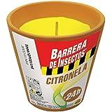 Compo 2194402011 - Pack de 4 barreras de insectos, vela de citronella, terracota