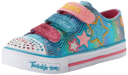 Skechers Shuffles-Triple Up, Baskets mode fille