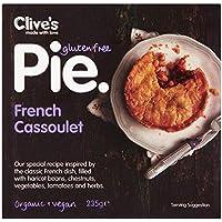 Clive's Pastel de Cassoulet francés sin gluten orgánico 235 g (Pack de 2)