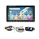Android 4.2 Lecteur DVD 2 DIN stéréo sans fil caméra 17,8 cm Lecteur DVD stéréo de voiture rapide 2 GHz Câble écran Multi-Touch capacitif voiture double PC Radio BT GPS WIFI GPS SD de radio en bord de l'autoradio Bluetooth