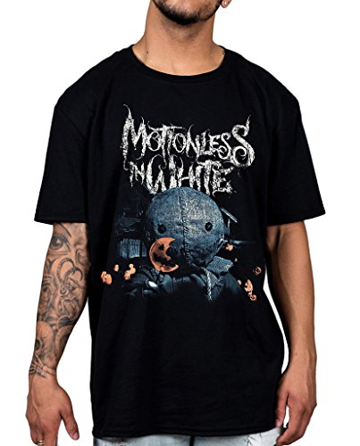 Official Motionless in White Dolcetto o scherzetto Unsiex maglietta Creature Infamous Black XX-Large