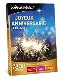 Wonderbox - Coffret cadeau anniversaire - JOYEUX ANNIVERSAIRE PETILLANT - 7800 dégustations, soins, activités de loisirs