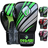 Farabi FAR-TECH Boxing Gloves 10oz 12oz...
