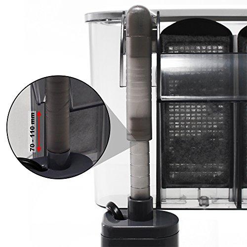 Sunsun HBL-303 Hang on Filter Anhängefilter 350 L/h bis 40 L Aquarium Filter - 5