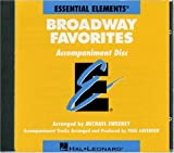 Best Broadway Cds - Essential Elements Broadway Favorites - CD Accompaniment Review