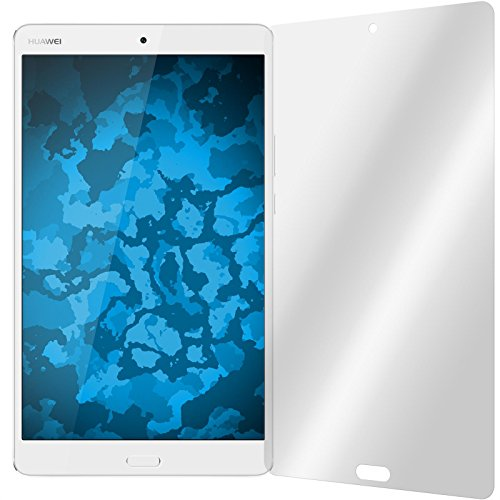 PhoneNatic 2er-Pack Bildschirmschutzfolien klar kompatibel mit Huawei MediaPad M3 Lite 8.0