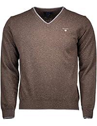 Abbigliamento Felpe Cardigan Amazon it amp; Maglioni Uomo Gant wPRfxqH
