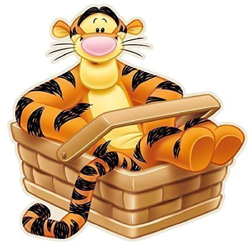 Disney Winnie The Pooh Kinderzimmer Teppich Tigerform (Baby Beanie Kostüm Tag)