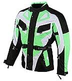 Bangla Kinder Motorradjacke Tourenjacke Textil 1535 Schwarz Grün 176