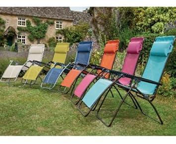 R Clip Lafuma Chairs Orange RECODE