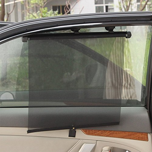JOAN DOMINGUEZ Magnetic Car Sun Shade UV Protection Car Curtain Car Window Sunshade Side Window Mesh Sun Visor Summer Protection Window Film Front row