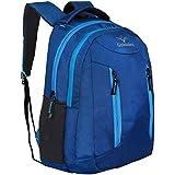 Goldendays Trendy Smart Blue Travel School Laptop Backpack