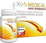 XLS Medical Max Fuerza Pastillas Para Adelgazar para perder peso - Pack de 120 by XLS Medical
