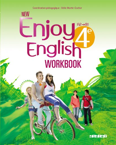 NEW ENJOY ENGLISH 4me - Cahier d'activits
