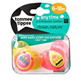 Tommee Tippee Closer To Nature: 2 x Schnuller 6-18m (Cool Chick / Big Dreams)