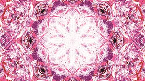 Rompecabezas 1500 Piezas Adultos De Madera Niño Puzzle-Mandala Rosa Roja-Juego Casual De Arte Diy Juguetes Regalo Interesantes Amigo Familiar Adecuado