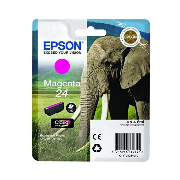 epson claria photo hd ink elephant 24 series Epson Claria Photo HD Ink Elephant 24 Series 51YgOl9a28L
