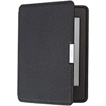 Custodia Amazon in pelle per Kindle Paperwhite, colore: Nero - compatibile con tutte le generazioni di Kindle Paperwhite