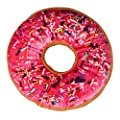Kolylong New style Doughnut Pillow Shaped Ring Plush Soft Novelty Style Cushion Pillow - inexpensive UK light store.