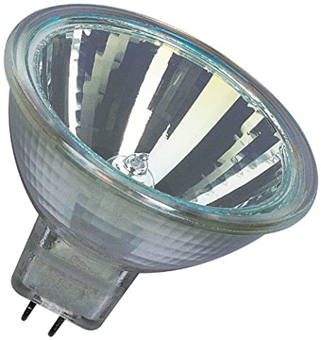 Osram Decostar 51s 44865WFL Halogen Lamp / 12 Volt 35 Watt / Socket Gu5.3 36 / Diameter 51 mm / Set of 10