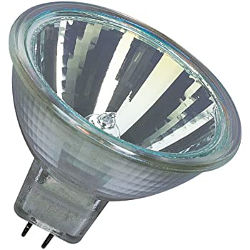 Osram 144865WFL Lot de 10 ampoules halogènes Decostar 51s 12 V 35 W avec culot GU5,3 36, réflecteur dichroïque et disque de recouvrement Ø 51 mm