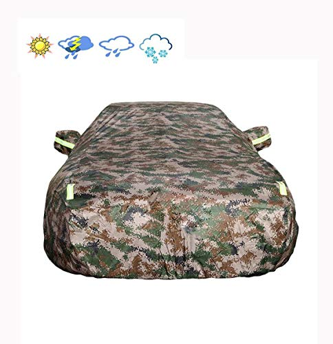 Limousinen-Autoschutzhülle, Chevrolet Oxford-Stoff - Integrierte fusselfreie Autoschutzhülle Reflektierende Streifen Spezial-Autoschutzhülle -Sonne Allwetter-Schutz Regenschutz SUV-Autotuch