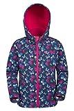 Mountain Warehouse Exodus Softshell-Kinderjacke mantel mit Aufdruck leuchtendes Pink 98