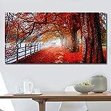 RTCKF Arte Denaro Albero Poster e incisioni Arte della Parete Stampa su Tela Immagine per Soggiorno Pittura su Tela (Senza Cornice) A2 60x120 CM
