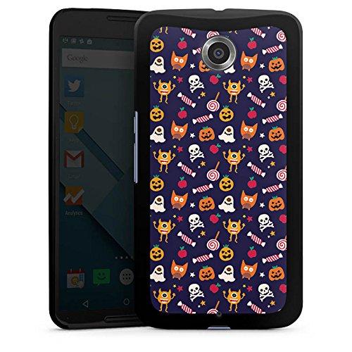 Halloween Kürbisse Google (Google Nexus 6 Hülle Case Handyhülle Geist Kürbis Halloween)