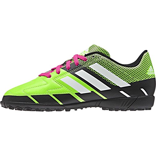 adidas Neoride III, Sneaker a Collo Alto Bambino, Verde Green/Black/Oink, 37 EU