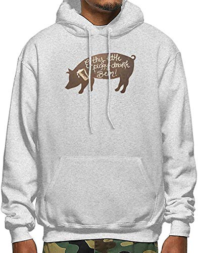 qianfengdamaoyi The Noble Pig Men's Polyester Hoodie Pocket Sweater Jackets (Süße Rote Haube Teenager Mädchen Kostüm)