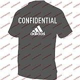adidas HQ H JSY T-Shirt Homme, Marron (azuesc/Belroj/Grisua/Marrón), L